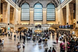 Máj 2019 - Grand Central Terminal v New Yorku