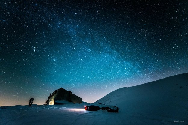 Nočná obloha nad Ďumbierom, Nizke Tatry