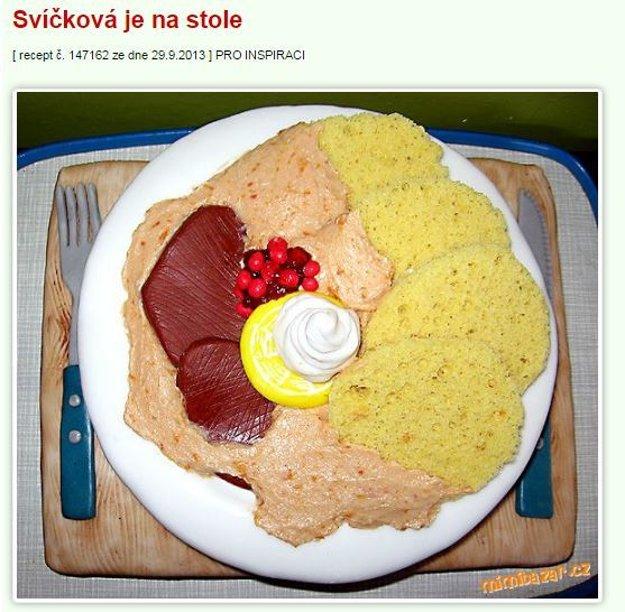 svickova torta Mimibazar.cz