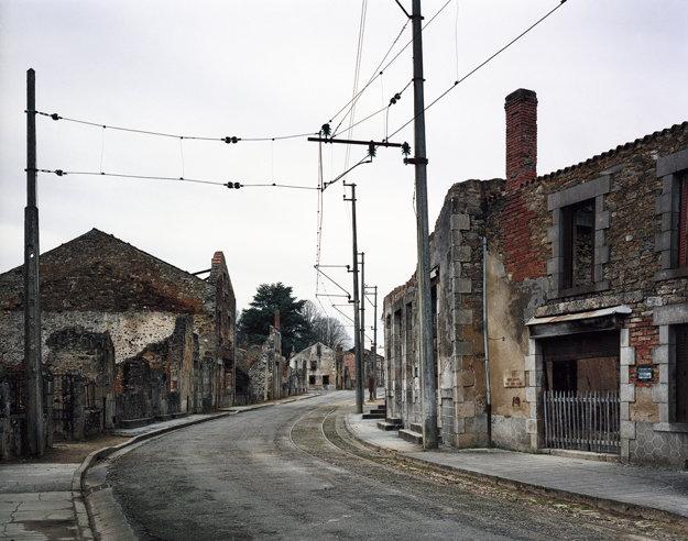 Ulica v Oradour-sur-Glane