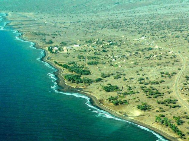 Lokalita Novej Moskvy v dnešnom Džibutsku