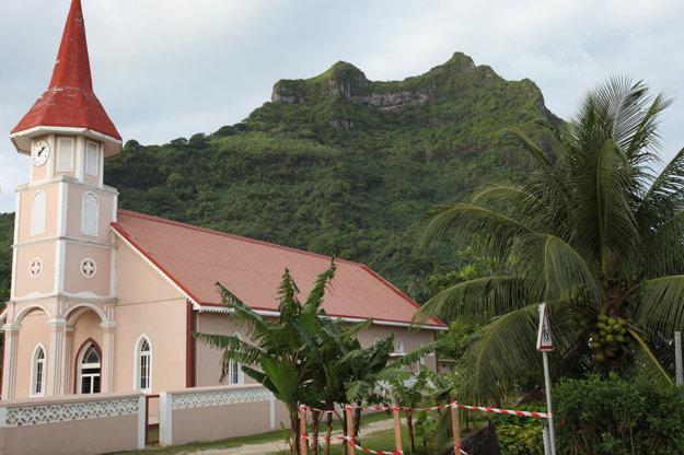 Kostol vo Vaitape, Bora Bora