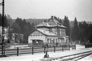 1963 - Stanica v Tatranskej Lomnici