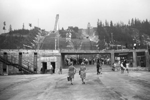 1971 - Pod skokanským mostíkom