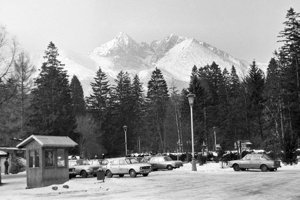 1981 - Pohľad na hory