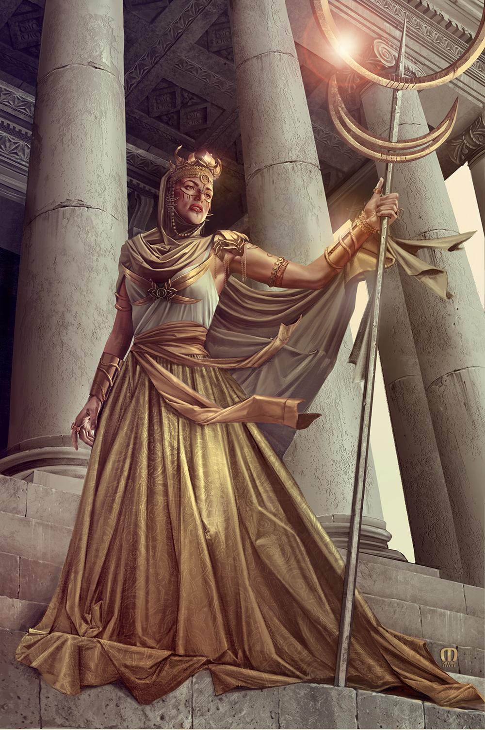 Kráľovná Sevan.