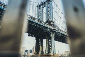 Máj 2019 - Manhattan Bridge v New Yorku