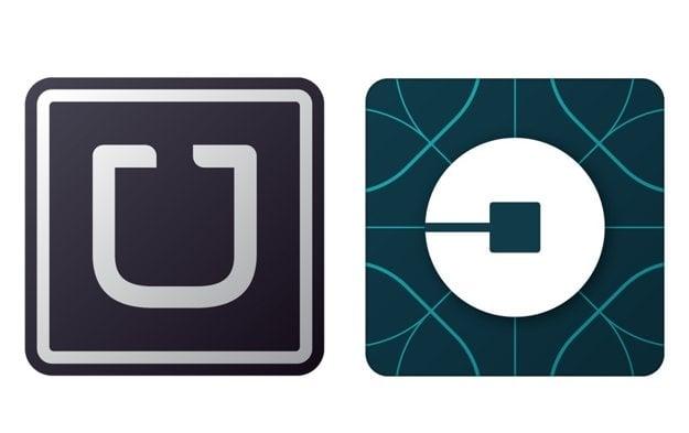 Uber - staré a nové logo