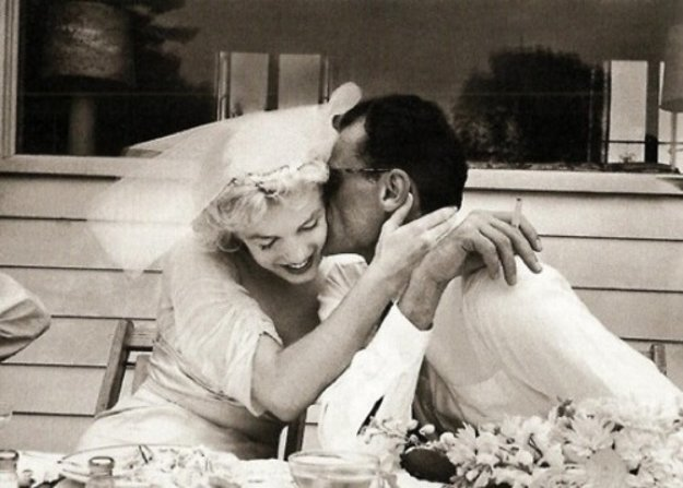 Marilyn a Arthur Miller.
