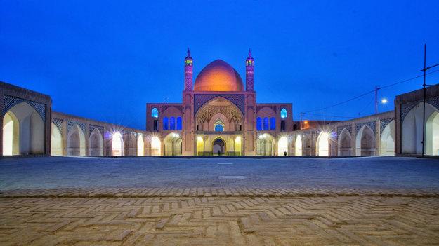 Mešita Agha Bozorg v meste Kashan