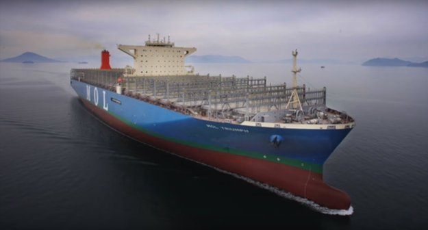 Najväčšia nákladná loď na svete