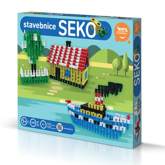 Jedno zo zaujímavých súčasných prevedení stavebnice SEKO