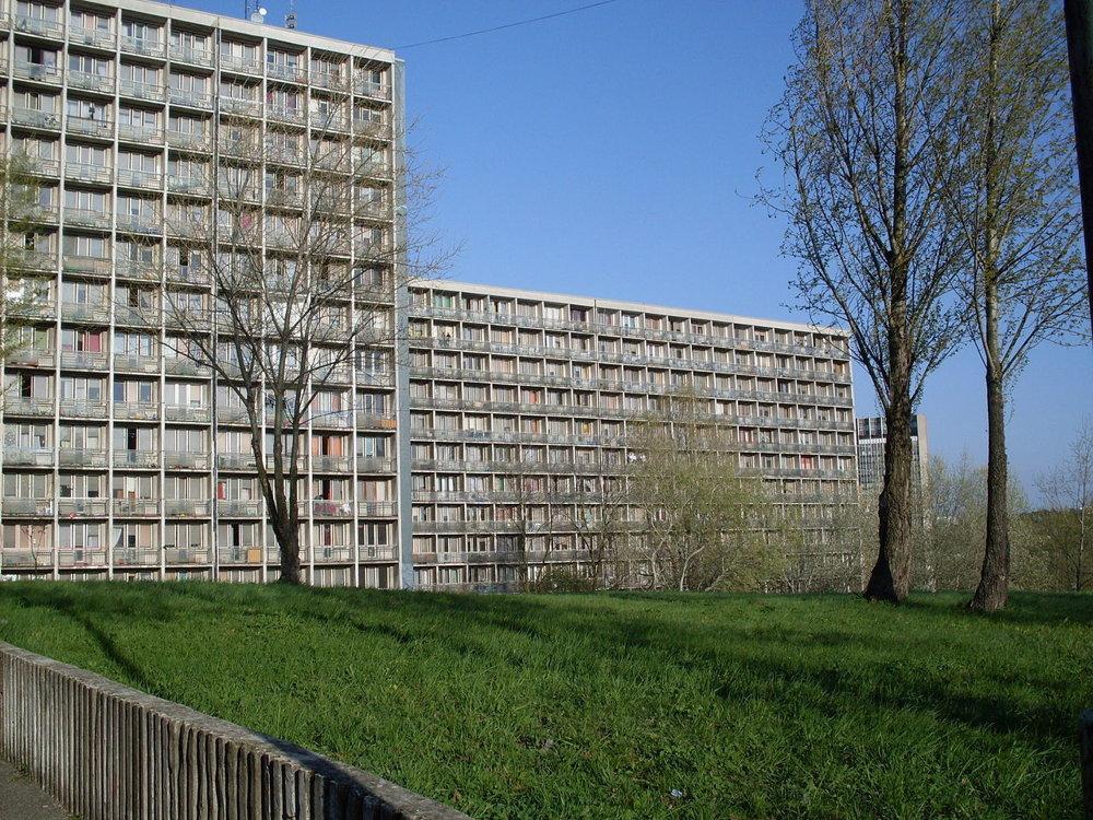 Šturák - jeden z internátov v bratislavskej Mlynskej doline.