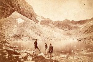 1873 - Velická dolina a Dlhé pleso.