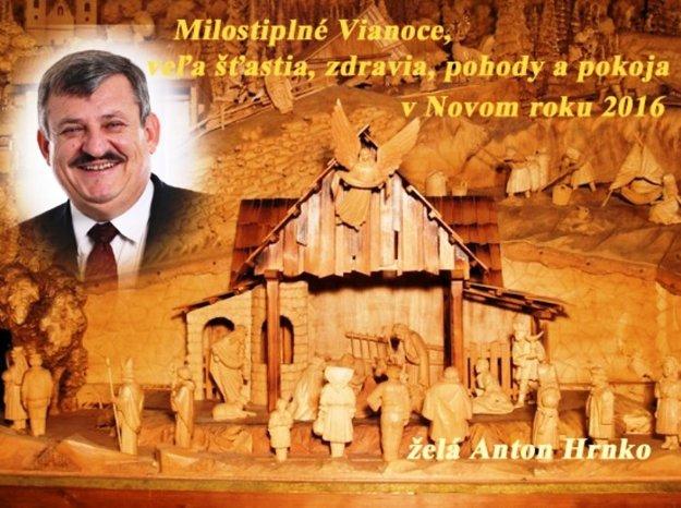 Anton Hrnko praje štastné a veselé.