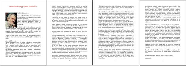 Lasicov list o krásnom živote v socializme, ktorý nikdy nenapísal.