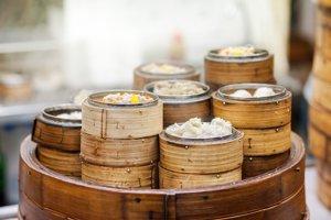 10. Dim sum v Hong Kongu
