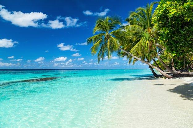 Maldivské pláže vyzerajú ako skutočný raj.