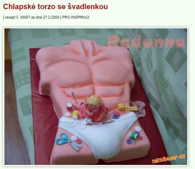 svadlenka torta