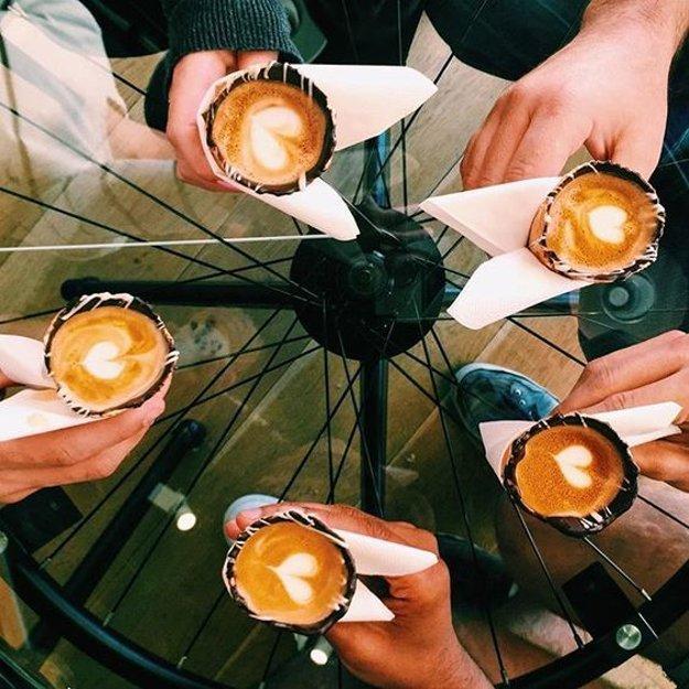 V kaviarni v Johannesburgu