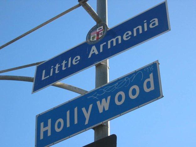Malé Arménsko v Los Angeles