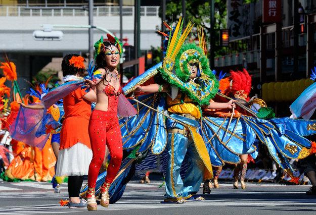 Brazílsky karneval v Japonsku