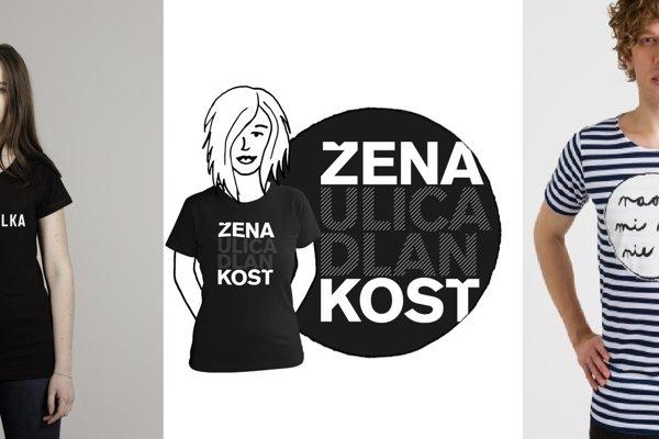 61011c16a362 Vyjadrite sa pomocou tričiek so zaujímavými nápismi v slovenčine ...
