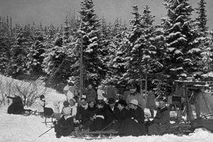 1917 - Sánkovačka v Tatrách