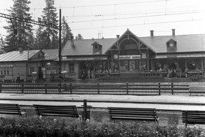 1965 - Stanica v Tatranskej Lomnici