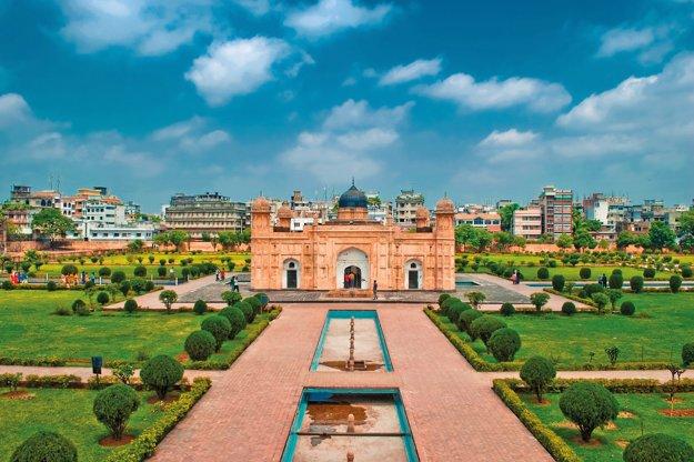 Pevnosť Lalbagh v Dháke.