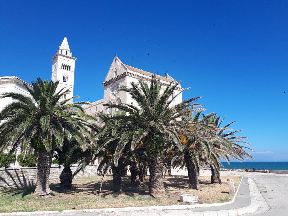Katedrála v Trani.