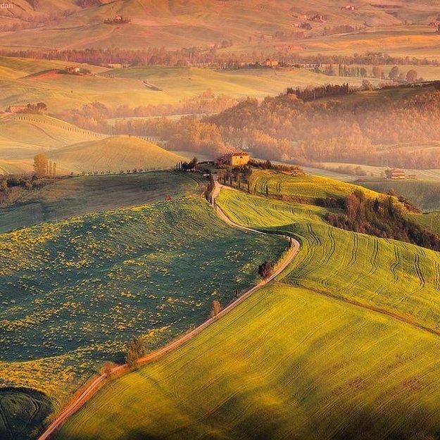 V talianskom Toskánsku sa nachádza až 120 chránených krajinných oblastí.