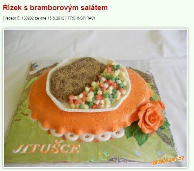 mimibazar rizek torta
