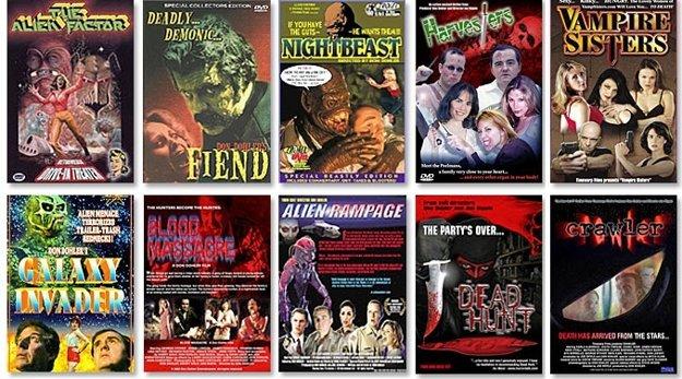 Výber filmov Dona Dohlera, priekopníka lowcost hororovej kinematografie