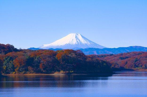 Fudži, najvyššia sopka a zároveň aj najvyšší vrch Japonska