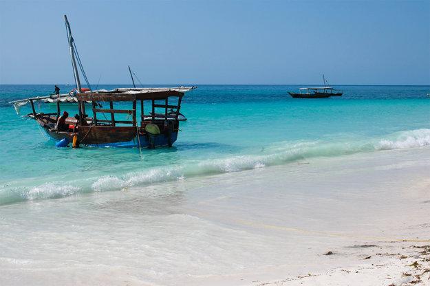 Nunwi - najobľúbenejšia pláž Zanzibaru.