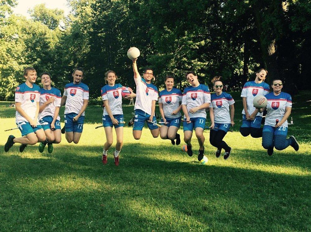 Slováci pred odchodom na Svetový pohár 2016 vo Frankfurte, kde obsadili konečné 17. miesto.