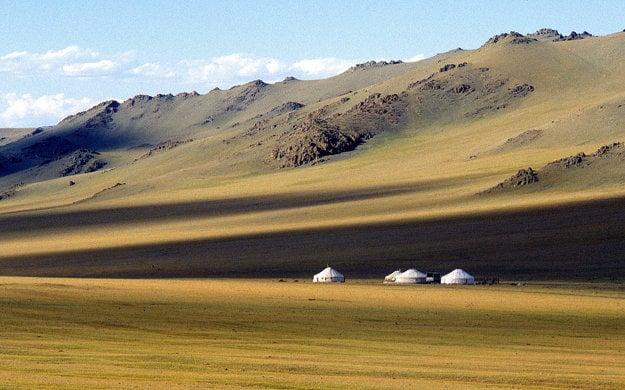 Gery na mongolskej stepi