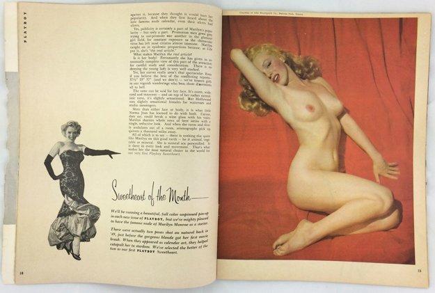 prvé číslo Playboya