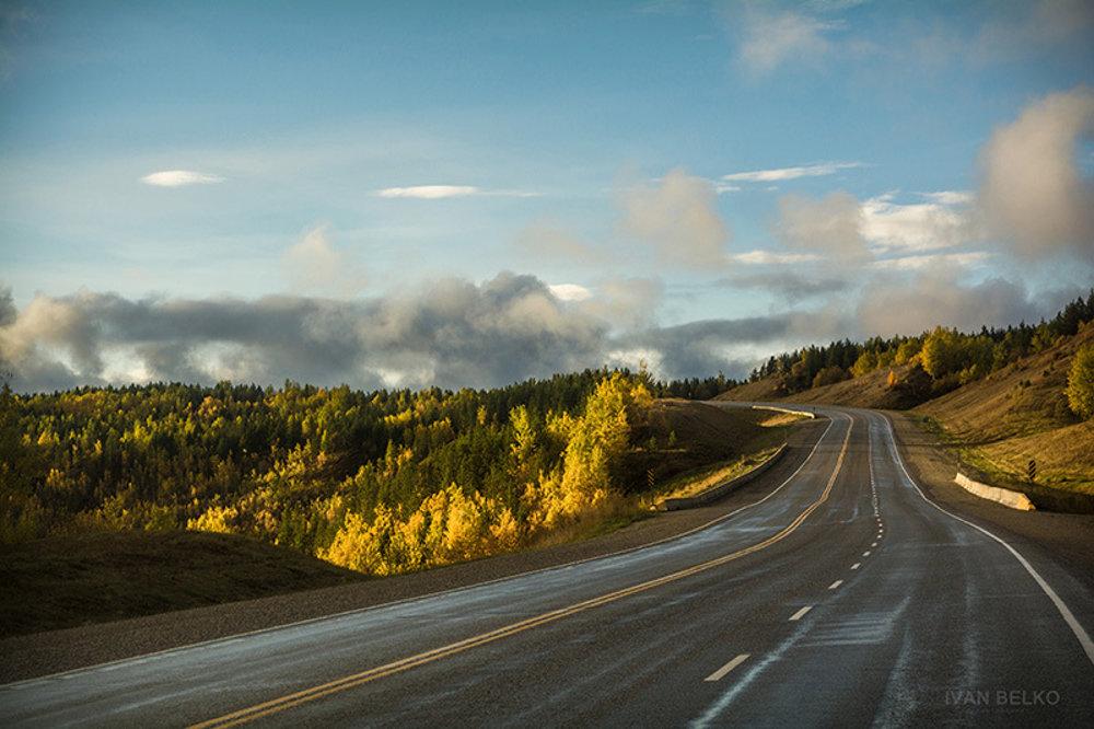 V podvečerných hodinách sa vždy vyčasilo a kanadská príroda sa nám ukázala v tom najkrajšom svetle.