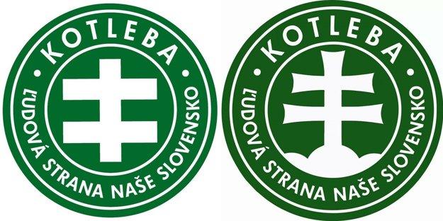 Staré a nové logo ĽSNS.