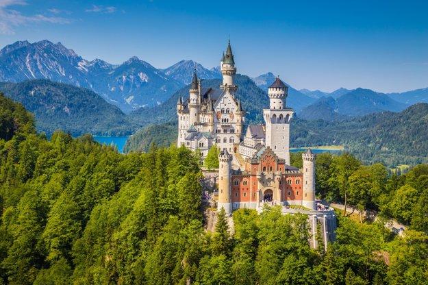 Pri meste Fussen nájdete hrad ako z rozprávky.