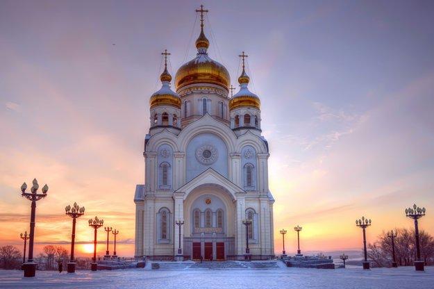 Katedrála Premenenia Pána v Chabarovsku.