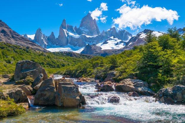 Argentína ponúka ohromujúce horské scenérie.