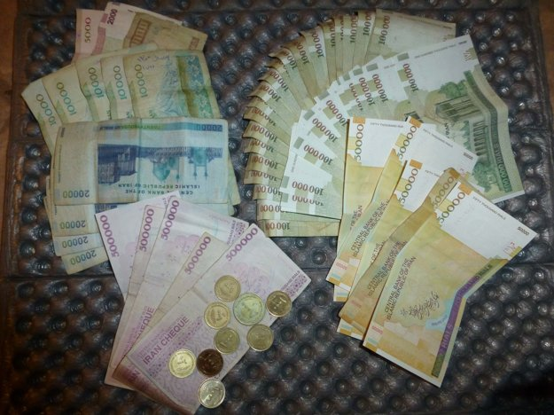 Hogy bol v Iráne milionárom