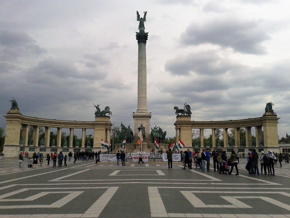 Námestie hrdinov, Budapešť
