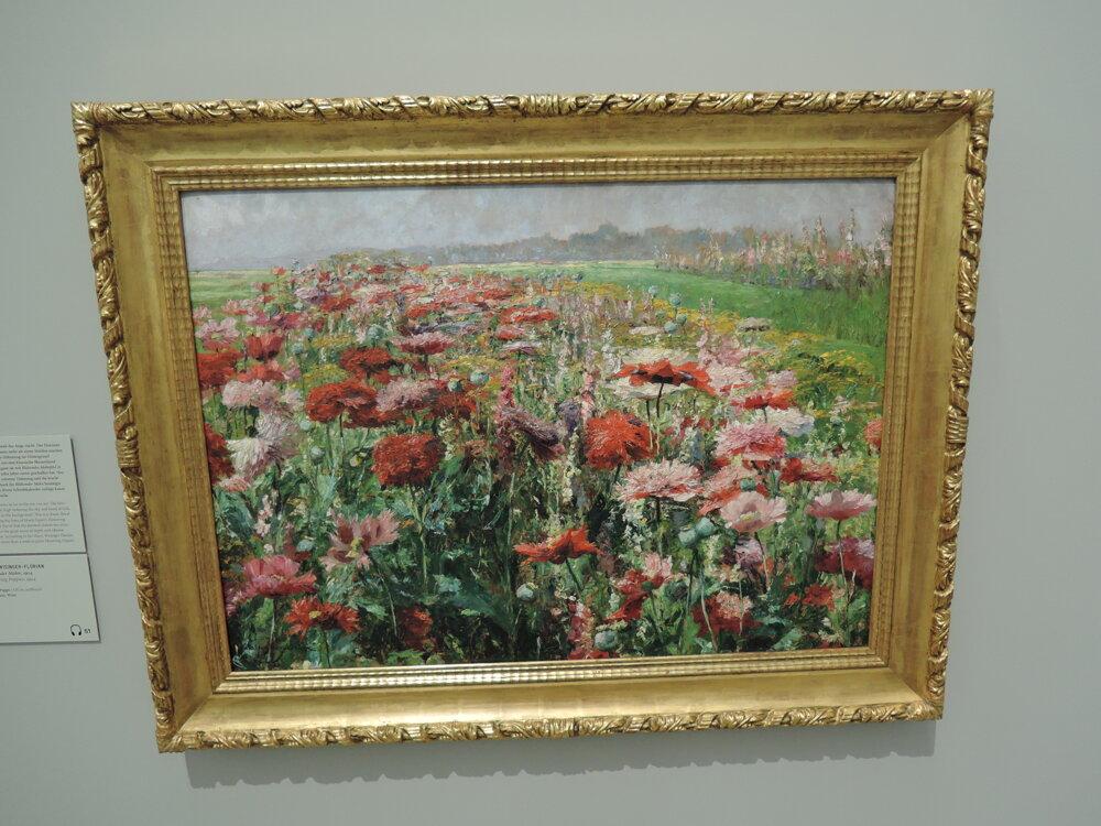 Olga Wisinger-Florian, Flowering poppies, 1904