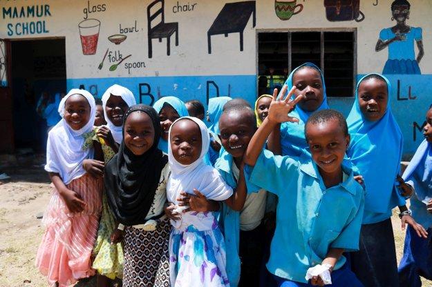 Zanzibarskí školáci