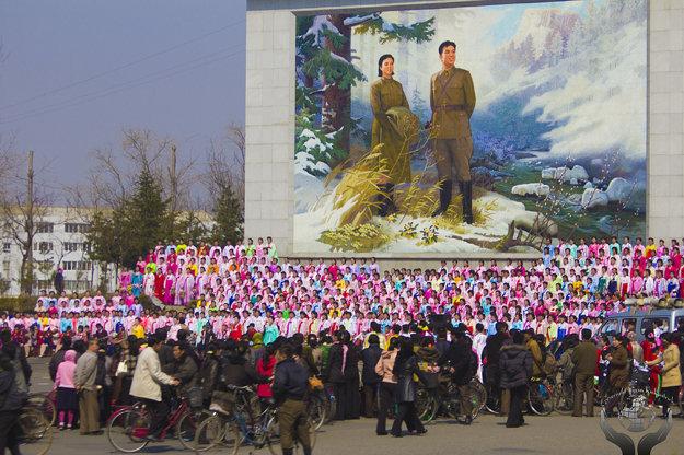 100. narodeniny Kim Ir-sena, 2012