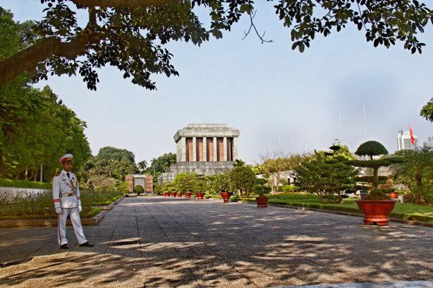 Hanoj, mauzóleum Ho Či Mina